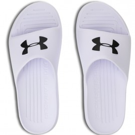 Pantofle Under Armour Core White