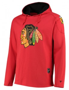 Mikina Chicago Blackhawks Franchise Overhead Hoodie