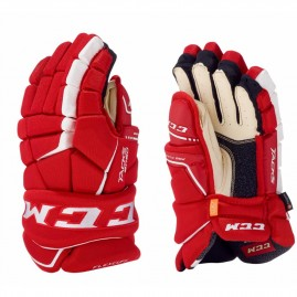 Hokejové Rukavice CCM Tacks 9080 Red/White Junior
