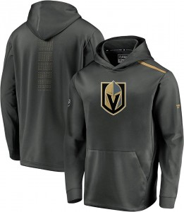 Mikina Vegas Golden Knights Rinkside Synthetic Pullover Hood