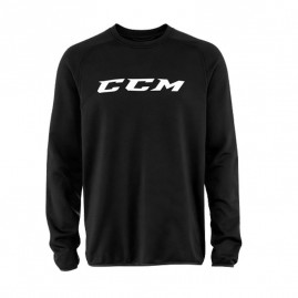 Mikina CCM Locker Room Top Black