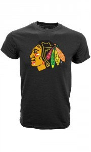Tričko Chicago Blackhawks Core Logo Tee