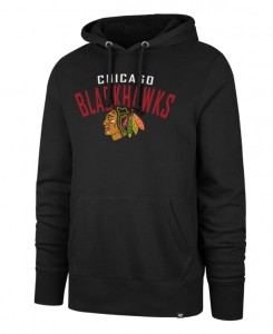 Mikina Chicago Blackhawks Outrush '47 Headline Pullover Hood