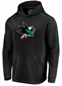 Mikina San Jose Sharks Rinkside Synthetic Pullover Hood