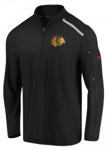 Mikina Chicago Blackhawks Clutch Quarter Zip