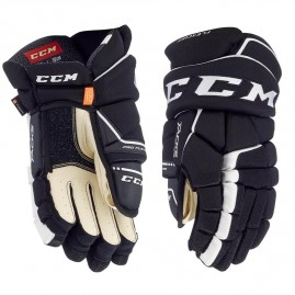 Hokejové Rukavice CCM Tacks 9080 Black/White Senior