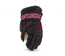 Hokejové Rukavice CCM JetSpeed 390 Black/Red Junior