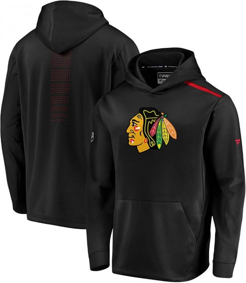 Mikina Chicago Blackhawks Rinkside Synthetic Pullover Hood