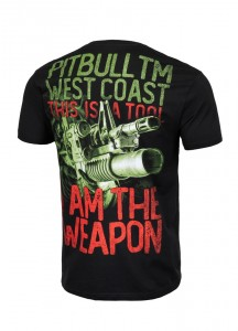 Tričko PitBull West Coast I Am The Weapon