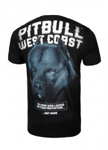 Tričko PitBull West Coast Black Dog