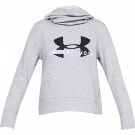 Dámská Mikina Under Armour Cotton Fleece Sportstyle Logo hoodie