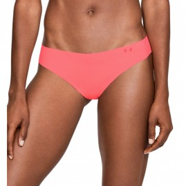 Dámská Tanga Under Armour Pure Stretch Thong Pink