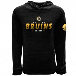 Mikina Boston Bruins Static Hood
