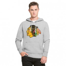 Mikina Chicago Blackhawks Knockaround '47 Pullover Hood