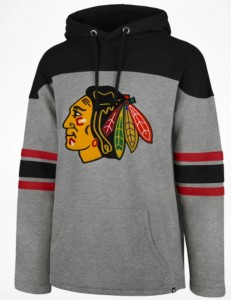 Mikina Chicago Blackhawks '47 Huron Hood
