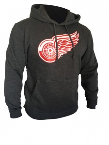 Mikina Detroit Red Wings Core Logo Hood