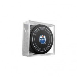 Official Game Puck Edmonton Oilers