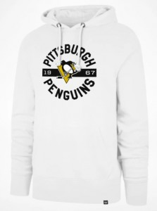 Mikina Pittsburgh Penguins Round About '47 Headline Hood