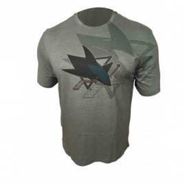 Tričko San Jose Sharks Shadow Logo Tee