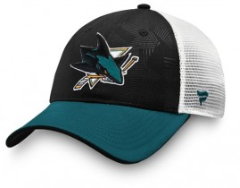 Kšiltovka San Jose Sharks Iconic Trucker