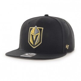 Snapback Vegas Golden Knights No Shot Black '47 Captain